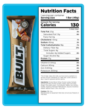 Load image into Gallery viewer, Built Protein Bar - 100% Real Chocolate - Zero Guilt 56g