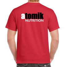 Load image into Gallery viewer, Atomik Nutrition T-Shirt Red