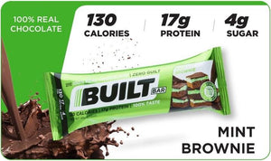 Built Protein Bar - 100% Real Chocolate - Zero Guilt 56g