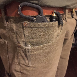 HAK knife in pocket