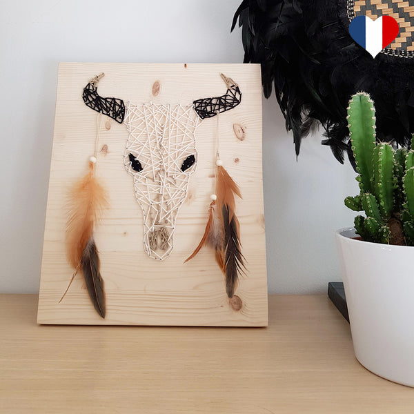 string art buffle