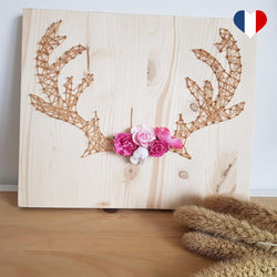 string art cerf
