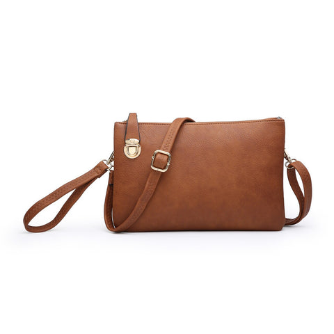 Sarah Clutch Crossbody Brown