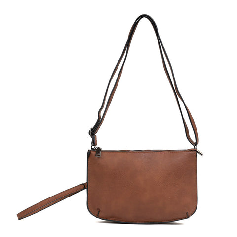 Mila Everyday Crossbody Brown