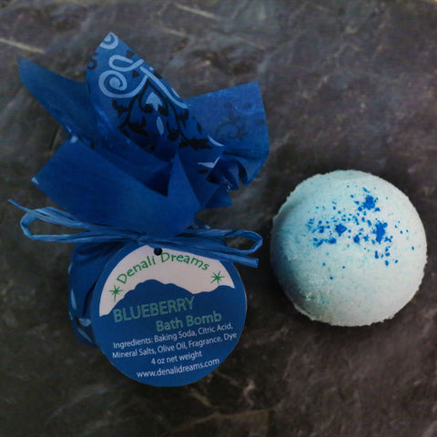 Wild Blueberry Bath Bombs