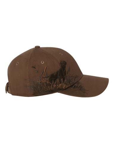 Dri Duck  Brown Labrador Hat