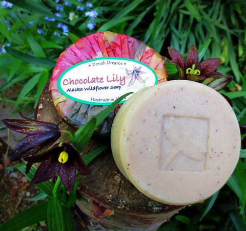 Chocolate Lily Soap