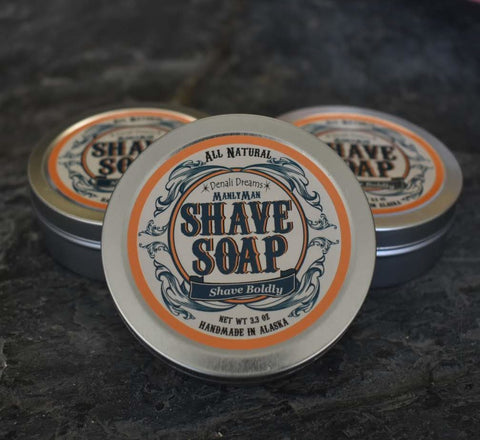 Manlyman Natural Shave Soap