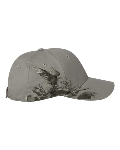 Dri Duck Stone Bald Eagle Hat