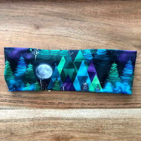 Mountains and Moon Headband