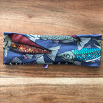 Gray Alaska Salmon Headband