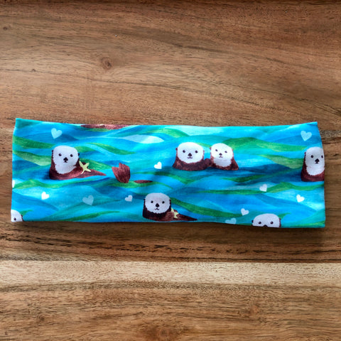 Otters in Kelp Headband