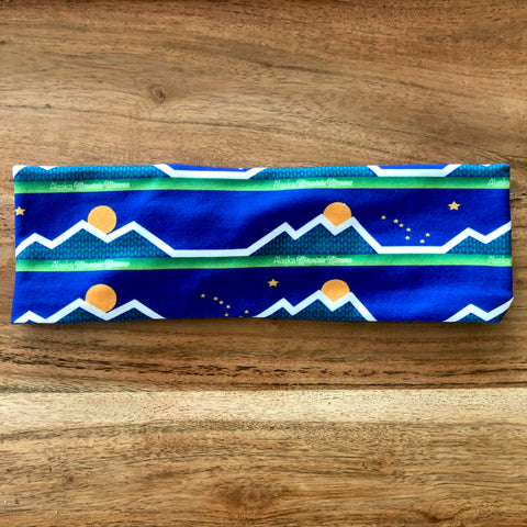 Alaska Mountain Mama Headband