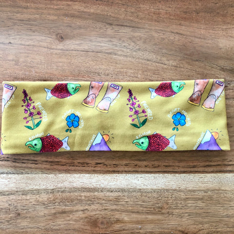 Mustard Alaska Mixed Headband