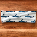 Lt Blue Whale Headband
