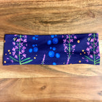 Fireweed and Blueberries Headband