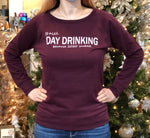 Still Day Drinking Heavenly Fleece Crewneck Sweatshirt