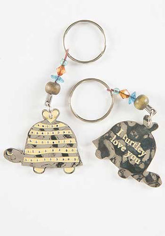 Token Keychain Turtle/Turtley Love