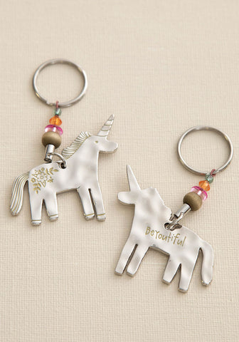 Unicorn BeYoutiful Token Keychain