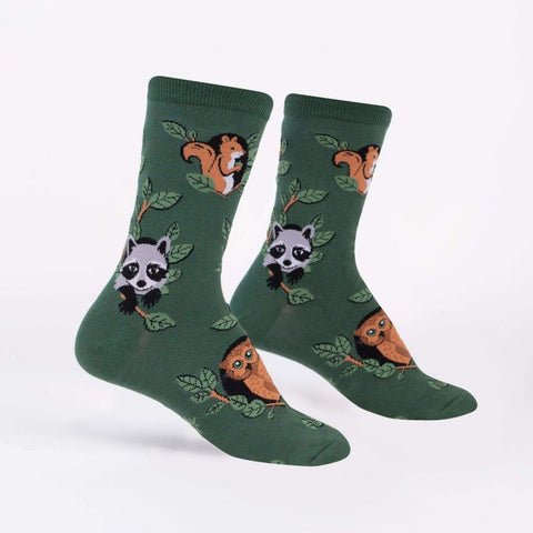 Woodland Watchers Crew Socks