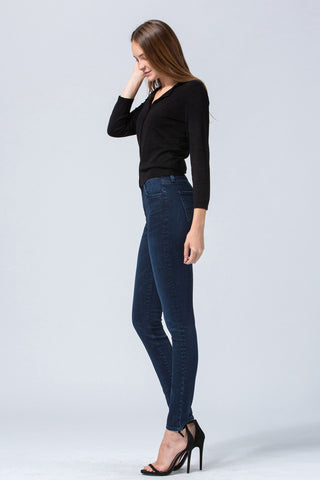 High Rise Skinny Jeans- Flying Monkey