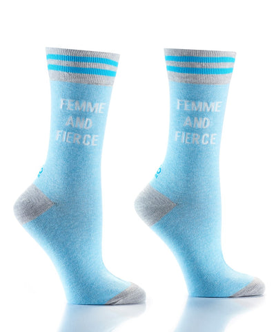 Femme & Fierce Women's Crew Socks
