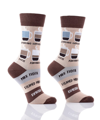 Know Your Coffees Crew Socks
