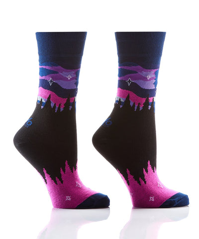 Northern Lights Women's Crew Socks