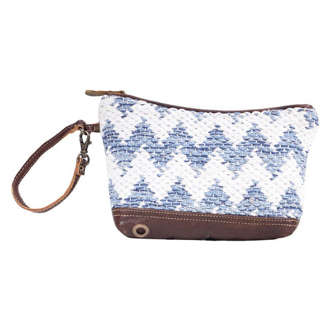 Myra Blue Crossovers Pouch