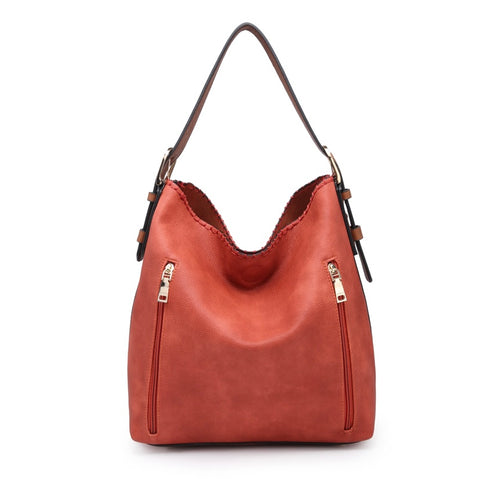 Burnt Orange Alexa 2 in 1 Hobo Bag