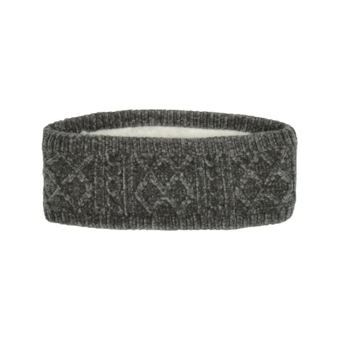 Adult Grey Chenille Headband
