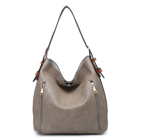 Khaki Alexa 2 in 1 Hobo Bag