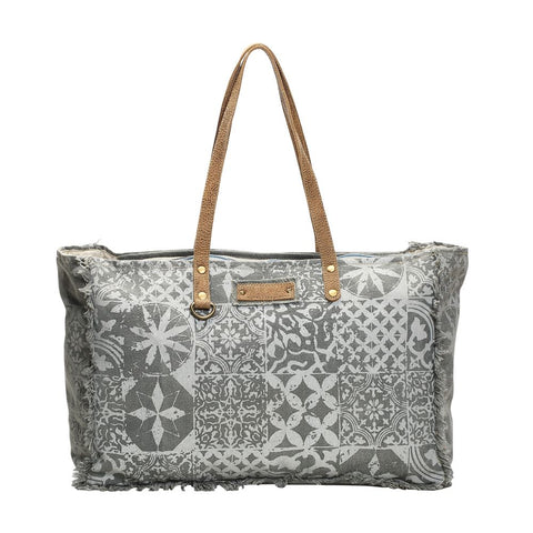 Myra Multiprint Weekender Bag