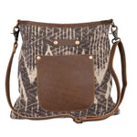 Myra Sepia Splash Shoulder Bag