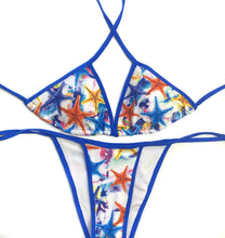 Load image into Gallery viewer, Multicolor Starfish Bikini Set