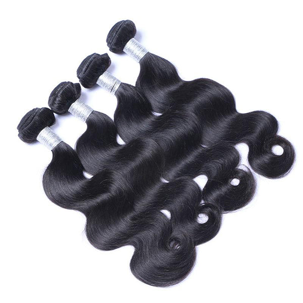 Ali Peruvian Body Wave 100% Virgin Human Hair 4 Bundles