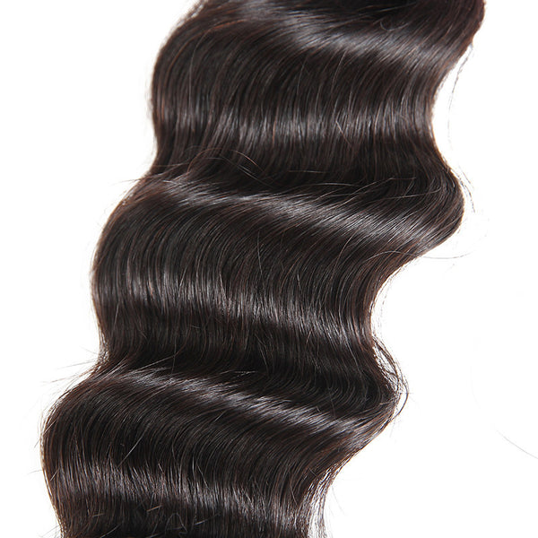 Ali Brazilian Loose Deep 100% Virgin Human Hair 3 Bundles