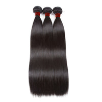Ali Brazilian Straight 100% Virgin Human Hair 3 Bundles