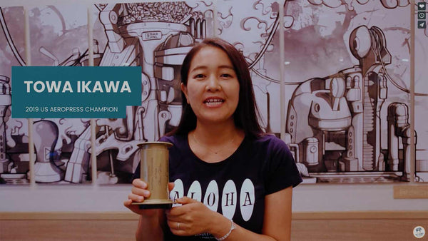 Learn Aeropress from the USA Champion with Ka'u Coffee