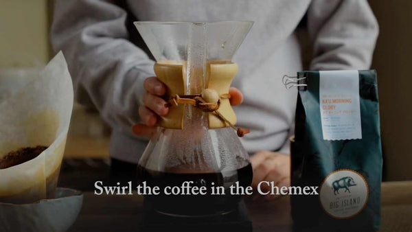 How to Brew on a Chemex with Ka'u Coffee