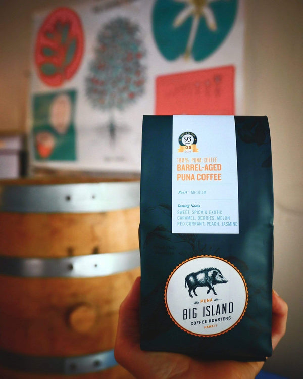 Barrel Aged Puna Coffee Hawaiian Coffee