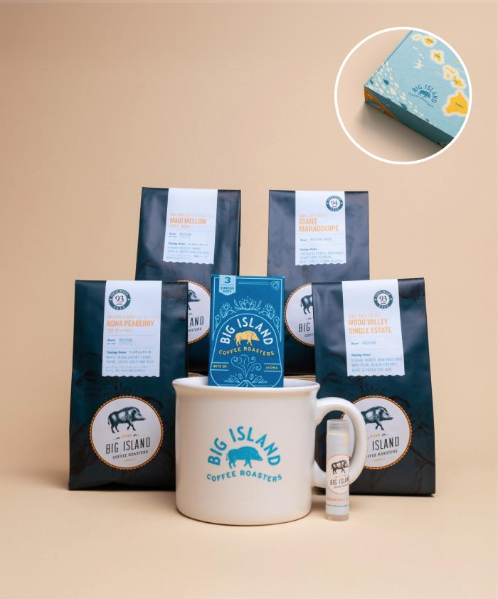 Hawaiian coffee gift box