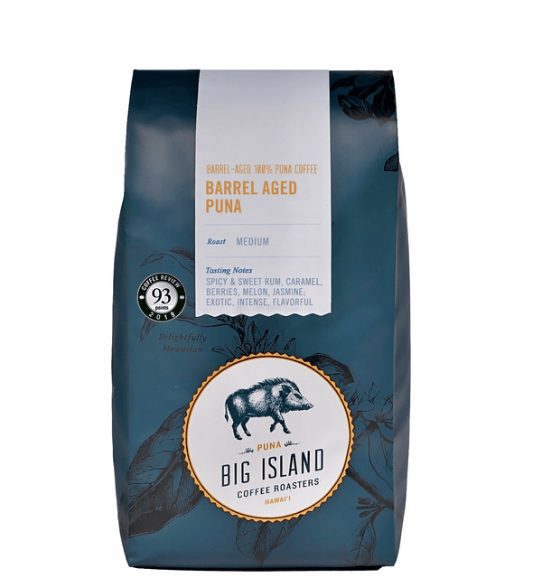 Big Island Coffee Roasters Hawaiian Coffee Club Barrel Aged Coffee Of The Month