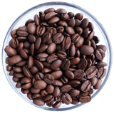 Ka'u coffee beans roasted