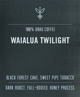 oahu coffee waialua twilight