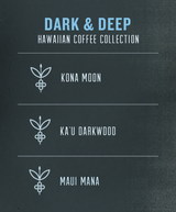 Dark & Deep Hawaiian Coffee Collection card