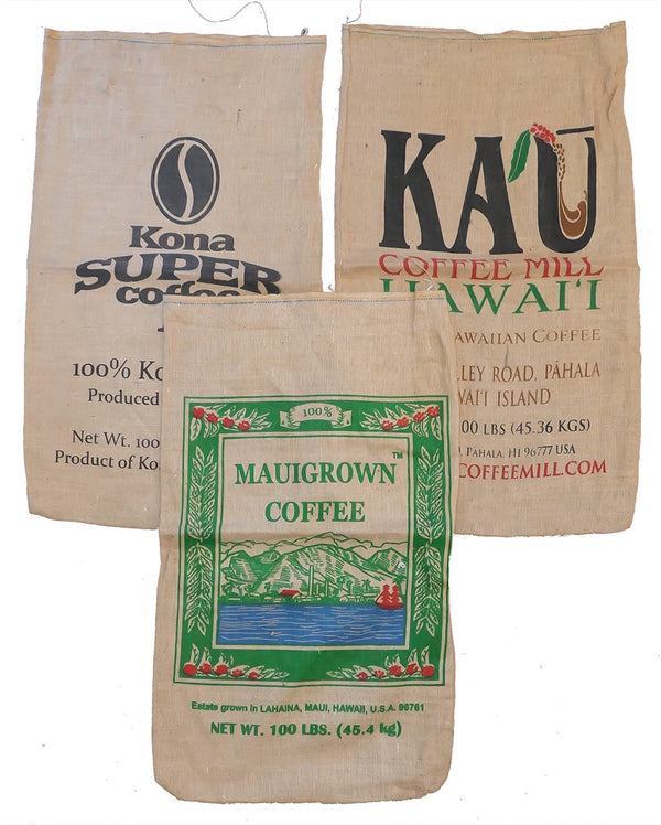 branded burlap bags hawaii for sale