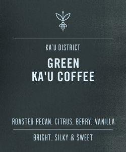 Big Island Coffee Roasters Green Hawaiian Coffee 100% Ka'u Coffee Green Bean 100% Green Ka'u Coffee | Green Hawaiian Coffee