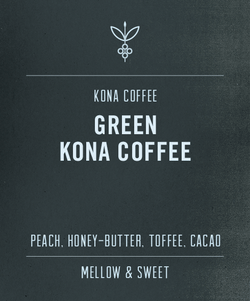 Big Island Coffee Roasters Green Hawaiian Coffee 100% Kona Coffee Green Bean 100% Green Kona Coffee | Green Kona Coffee Beans