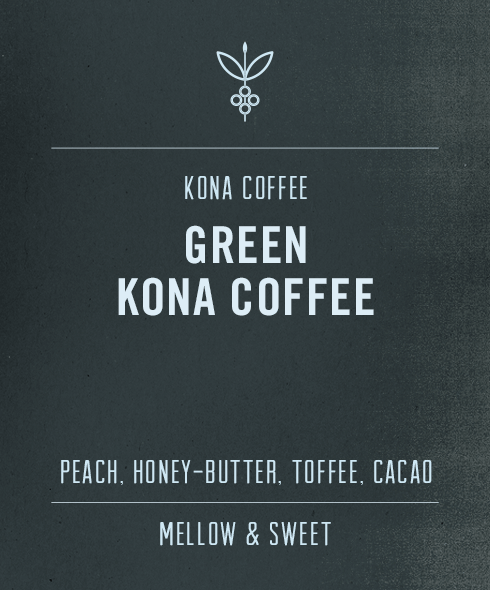 Green Kona Coffee